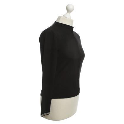 Versace Cardigan in Black