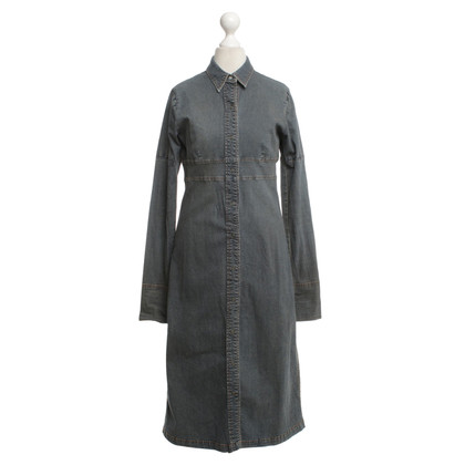DKNY Jean jurk in overhemd kijken