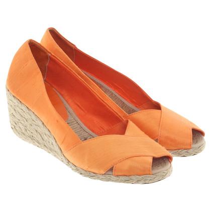 Ralph Lauren Sandaletten mit Keilabsatz