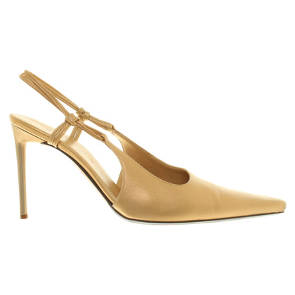 Céline Goldfarbene Pumps