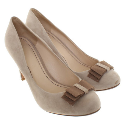 Navyboot pumps in beige