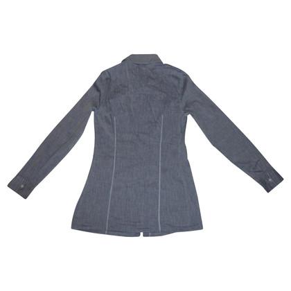 Brunello Cucinelli Bluse aus Baumwolle/Leinen
