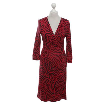 Diane von Furstenberg Dress in black / red