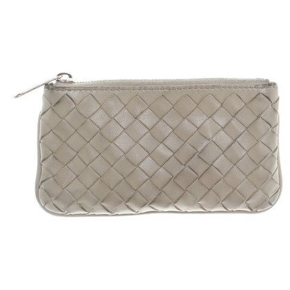 Bottega Veneta key holder in grey