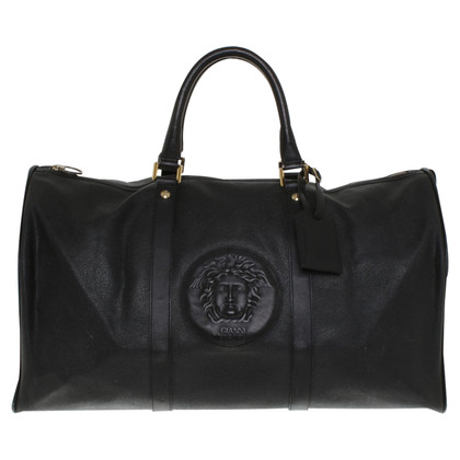 Versace Travel bag in black