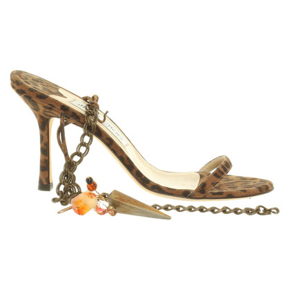 Jimmy Choo Sandals with decorative pendant