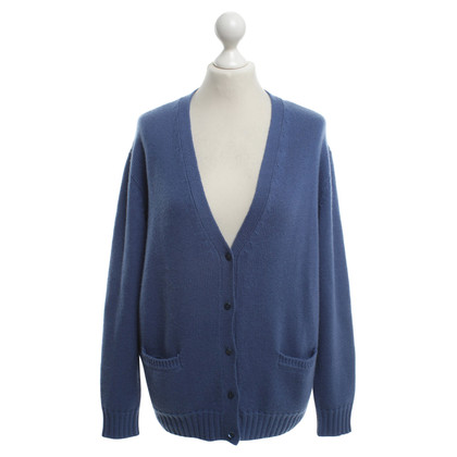 Ermanno Scervino Cashmere Cardigan in Blue