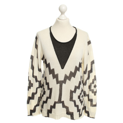 Sass & Bide Knit sweater in bicolor