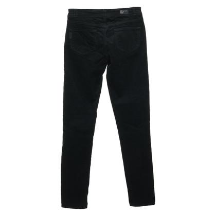 Paige Jeans Samt-Jeans in Grün