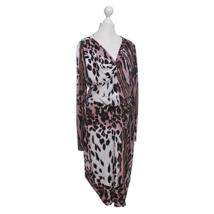 Roberto Cavalli Kleid mit Animal-Print