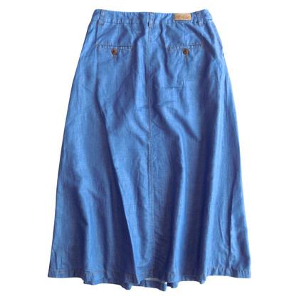 Max Mara Maxi rok in blauw
