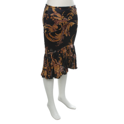 Roberto Cavalli skirt with pattern