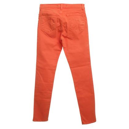 J Brand Skinny jeans in arancione