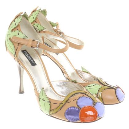 Dolce & Gabbana kleurrijke pumps