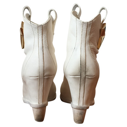 Giuseppe Zanotti Boots in White
