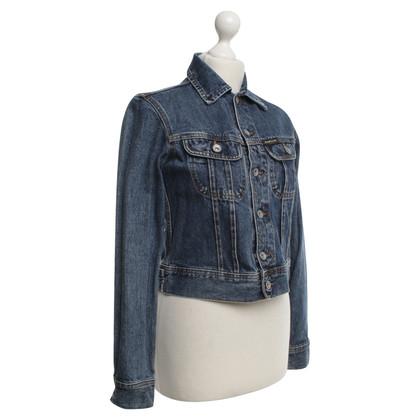 Donna Karan Denim jas in blauw