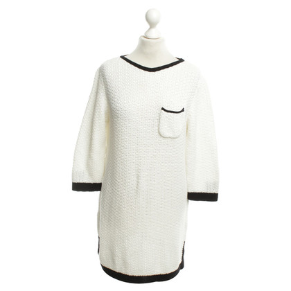 Marc Cain Knitted dress in white