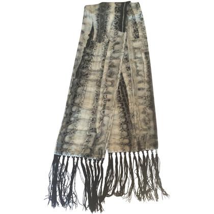 Roberto Cavalli Velvet scarf