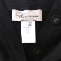 Blumarine Gonna nera in seta