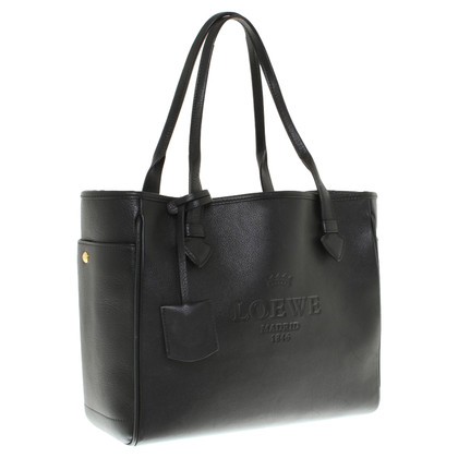 Loewe Handtasche mit Logoprägung