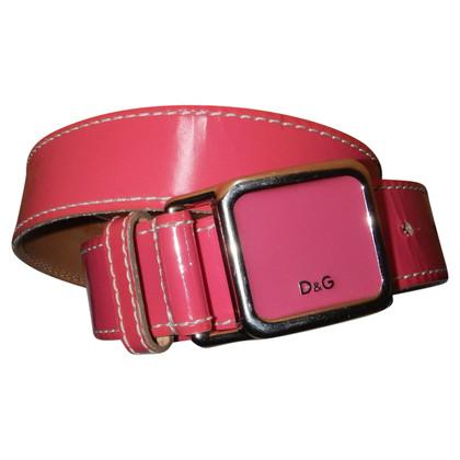 D&G cintura pelle