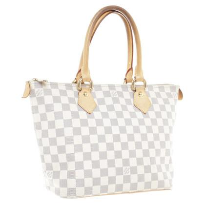 Louis Vuitton Handtasche aus Damier Azur Canvas