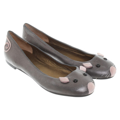 Marc by Marc Jacobs Ballerinas in Grau