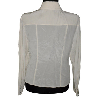 Laurèl Silk blouse in white