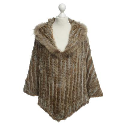 Other Designer Rino & Pelle - fur poncho