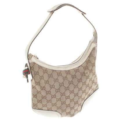 Gucci Handtasche in Beige