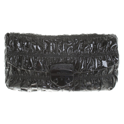 Prada clutch in black