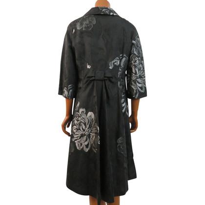Talbot Runhof Jacquard coat