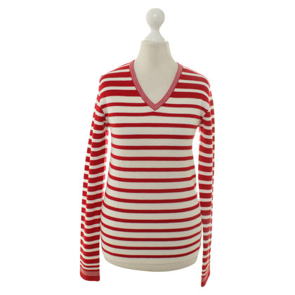 Dondup top with stripe pattern