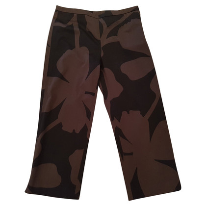 René Lezard Capri pants with patterns