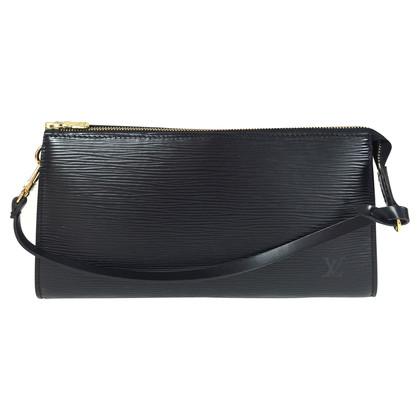 """Louis Vuitton """"Pochette Accessoires Epi"""" in Schwarz"""