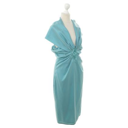 Talbot Runhof Cocktail dress in turquoise