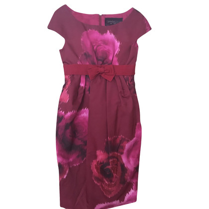 Giambattista Valli Red SIlk dress