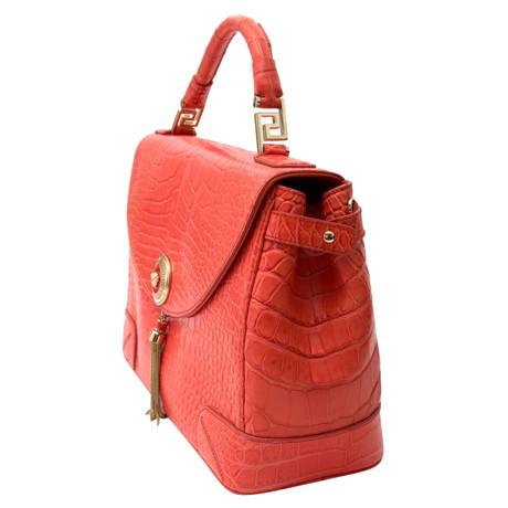 Versace Flap Bag Orange Outlet-Store Online-Verkauf Billige Wahl Verkaufen Sind Große AS0s5bz5
