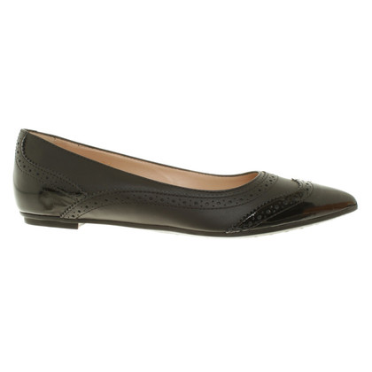 Tod's Ballerinas in black