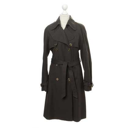 Dolce & Gabbana Trench coat with logo embroidery