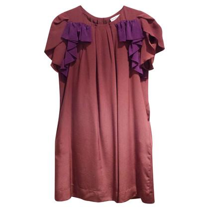 See by Chloé zijden jurk met volants
