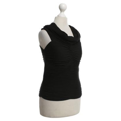 Armani Collezioni T-shirt en noir