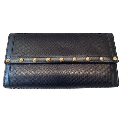 Gucci Python-Geldbörse