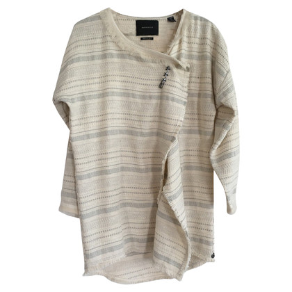 Maison Scotch Cardigan con striscia