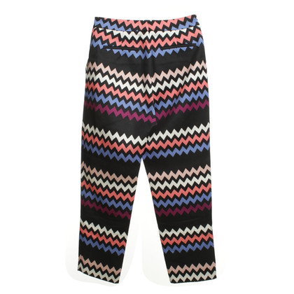 MSGM Pants with Chevron Pattern