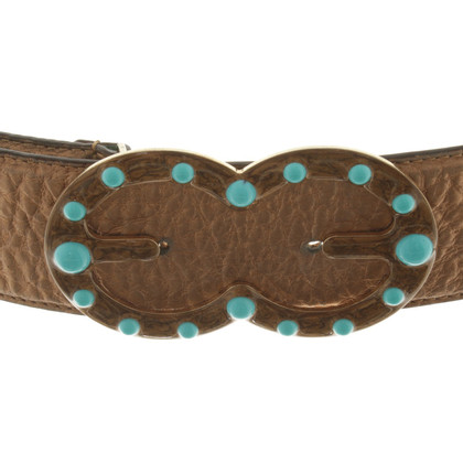Escada Belt in Bronze