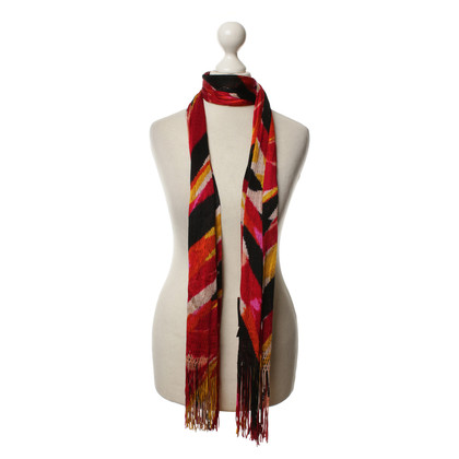 Missoni Scarf with lace pattern