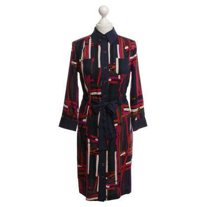"""Diane von Furstenberg Dress """"calzare"""" met patroon"""
