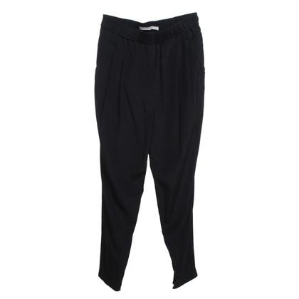 Schumacher trousers in dark blue