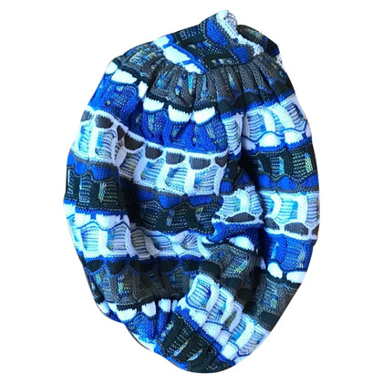 Missoni Mütze im Turban-Look